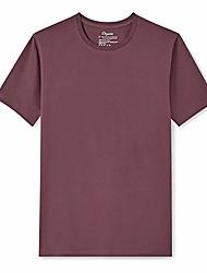 cheap -men's short-sleeve crewneck 100% organic cotton t-shirt (2x-large, burgundy)