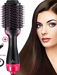 cheap -One Step Hair Dryer & Volumizer, Hot Air Brush,3-IN-1 Negative Ions Hair Dryer Hair Straightener& Curly Hair Comb for All Hair Types