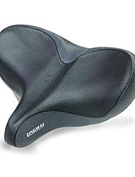 cheap -oversized comfort bike seat comfortable replacement bike saddle memory foam soft bike saddle waterproof universal fit bicycle seat for women men & #40;b-indoor bike seat& #41;