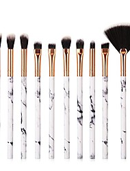cheap -marble pattern brush eyeshadow brush foundation brush set (10 pcs)