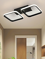 cheap -2-Light 50cm 3-Light 78 cm LED Ceiling Light Corridor Light Door Porch Light Into The Door Light Nordic Simple Modern Balcony Light