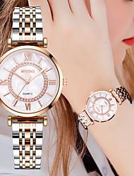cheap -Women's Quartz Watches Quartz Stylish Luxury Casual Watch Analog Gold Silver