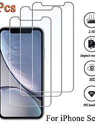 cheap -3PCS Protective glass on iphone 12 iPhone 11 SE 2020 8 plus XS max XR screen protector Tempered glass For iphone 12 Pro Max glass
