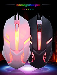 cheap -Ergonomic Wired Gaming Mouse Button LED 1000DPI USB Computer Mouse With Backlight For PC Laptop Gamer Mice S1 Silent Muse