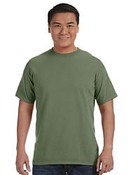 cheap -ringspun garment-dyed t-shirt, moss, 4xl