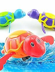 رخيصةأون -ألعاب حمام السباحة العائمة ريح السباحة سلحفاة الحيوان حوض السباحة لعبة للأطفال (لون عشوائي)
