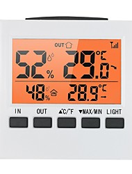cheap -LCD Digital Wireless Indoor/Outdoor Thermometer Hygrometer / Temperature Humidity Meter with Max Min Value Display Transmitter