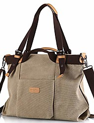 cheap -z-joyee women shoulder bags casual vintage hobo canvas handbags top handle tote crossbody shopping bags