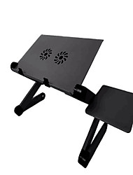cheap -llano YL-803 Laptop Stand Holder Laptop Cooling Pad Aluminum Alloy Portable Foldable with USB Ports Fan