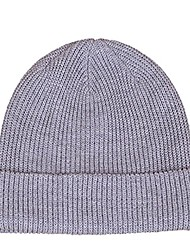 cheap -Men's Cycling Beanie / Hat Boonie hat Running Beanie Winter Outdoor Thermal Warm Breathable Hat Wool Cotton Light Yellow Light Blue Sapphire for Camping / Hiking Hunting Fishing