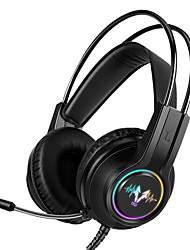 cheap -LITBest H210  7.1 Gaming Headset Headphones with Microphone for PC Computer Professional Gamer Earphone Surround Sound RGB Light