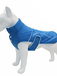 cheap -Dog Cat Coat Puffer / Down Jacket Solid Colored Casual / Daily Winter Dog Clothes Puppy Clothes Dog Outfits Light Green Blue Pink Costume for Girl and Boy Dog Flannel Fabric S M L XL XXL 3XL