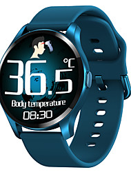 cheap -T88 Unisex Smartwatch Fitness Running Watch Smart Wristbands Fitness Band Bluetooth Touch Screen Heart Rate Monitor Blood Pressure Measurement Thermometer Information Pedometer Call Reminder Sleep