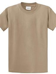 cheap -mens heavyweight 6.1-ounce, 100% cotton t-shirts-5xl dustybrown.