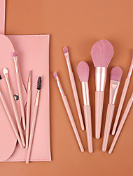 cheap -Professional Makeup Brushes 12pcs Full Coverage Wooden / Bamboo for Makeup Brushes