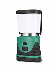 cheap -led rechargeable camping lantern super brightness 1000lm, 360 degree beam angle, 4 lighting modes, waterproof, portable for camping, hiking, fishing, outdoor activities