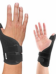 cheap -long thumb brace - guaranteed highest copper thumb spica splint for arthritis, tendonitis. for both right hand and left hand. wrist, hands, and thumb stabilizer and immobilizer