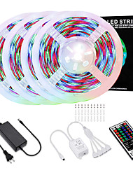 cheap -ED Strip Lights  20M 2835 RGB Light Strips Color Changing Rope Lights Flexible Tape Light Kit with 44 Keys Remote Controller & 12V Power Supply