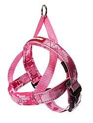 رخيصةأون -سترة تسخير للكلاب قابلة للتعديل وسريعة الملاءمة مع خياطة عاكسة - مثالية للتدريب والمشي والتحكم - مبطنة للراحة& # 40 ؛ متوسطة ، التمويه الوردي& # 41 ؛