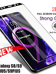 cheap -Samsung Galaxy S20Ultra Second Generation Enhanced Full-curved Screen Screen Printing Black Border White Border Note20 8 9 10Plus Anti-fingerprint Anti-scratch S9 S8 S10Plus HD Screen Protector 2PCS