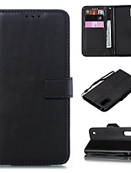cheap -Case For Samsung Galaxy S3 S4 S5 S6 S6 Edge S6 Edge Plus S7 S7 Edge S8 S8 Plus S9 S9 Plus Card Holder Flip Magnetic Full Body Cases Solid Colored PU Leather