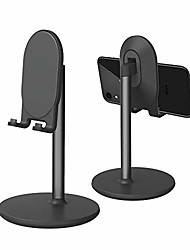 cheap -phone stand for desk, cell phone stand adjustable desk phone holder tablet holder phone dock (black)