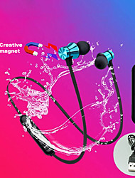 cheap -GL710 In-ear Sport IPX5  Waterproof Sweatproof Magnetic Absorption Voice Prompt Bluetooth Earphone Stereo Sports Earbuds For IOS Android