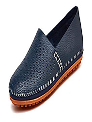 cheap -men's classy slip-on casual mocassin leather loafers the go driving boat shoes blue-p 47