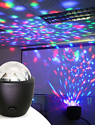 cheap -Disco Ball Party Stage Projector Lights Mini Led Voice Activated USB Crystal Magic Ball Flash DJ Lights for Home KTV Bar Car