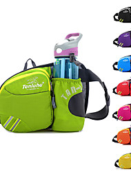 cheap -Fanny Pack Hiking Waist Bag 0-20 L for Marathon Hunting Fishing Running Sports Bag Waterproof Lightweight Wearable with Water Bottle Holder Adjustable Buckle Multiple Pockets Nylon Women's Men's