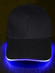 cheap -led hat - ultra bright lights unisex baseball cap one size fits all (blue)