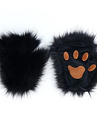 cheap -Unisex 1 Pair Party / Basic Half Finger Gloves - Solid Colored