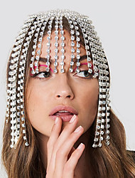 cheap -Hair Jewelry 1920s Retro Alloy For The Great Gatsby Cosplay Halloween Carnival Women's Costume Jewelry Fashion Jewelry / Hair Band