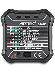 cheap -Socket Tester Power Polarity Detector Phase Detector Line Electroscope-UK plug