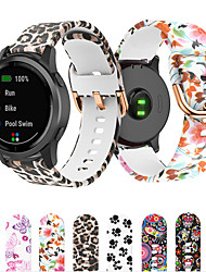 cheap -Watch Band for Garmin Venu/ venu Sq /Vivoactive 3 / Forerunner 645 /  Forerunner245 /vivoMove Sport Band Silicone Wrist Strap