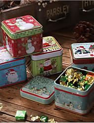 cheap -Christmas Decoration Box Children Gift Box Candy Jar Storage Box