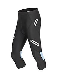 cheap -WOSAWE Men's Cycling Shorts Bike Tights Bottoms Sports Patchwork Black Mountain Bike MTB Road Bike Cycling Clothing Apparel Semi-Form Fit Bike Wear / Micro-elastic / Athletic