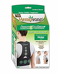 cheap -Fully Adjustable Posture Support Posture Corrector for Upper Body Helps Correct Slouching Text Neck and Hunching Over One Size