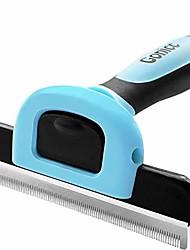 cheap -gonicc pdt- 1001 professional pet de shedding comb tool blue