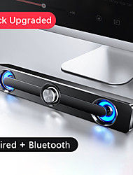 cheap -Computer Speaker TV Sound Bar Wired and Wireless Bluetooth 5.0 Home Surround SoundBar Stereo for PC Theater Aux 3.5m