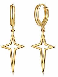 cheap -huggie earrings gold hoop stud ear cuff open star dangle charm drop 14k gold plated dainty minimalist simple boho hypoallergenic small jewelry gift for women