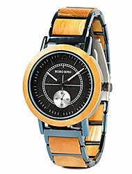 cheap -r12 mens wooden watches lightweight luxury stainless steel wood watch for men quartz watches (yellow)
