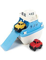 billige -færge legetøj, blå / hvid
