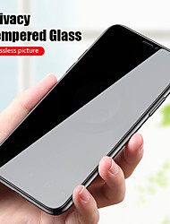 cheap -Anti Spy Peep Privacy Tempered Glass For iPhone 11 Pro XS Max XR X Screen Protector for iPhone 12 Pro Max Film