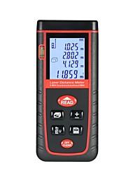 cheap -40m Mini Handheld LCD Digital Laser Distance Meter High-precision Rangefinder Distance Area Volume Measurement 30 Groups Data Storage