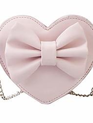 cheap -rebecca women girls heart shape handbag evening party tote purse (z-pink)