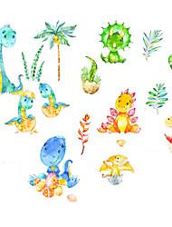 cheap -New Cartoon Stickers Dinosaur Self Adhesive Wall Stickers Creative Children's Room Wall Decoration