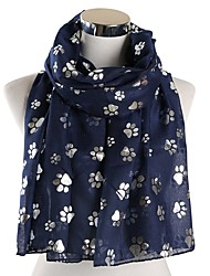 cheap -Women's Active Rectangle Scarf - Floral Washable