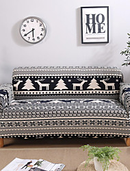 cheap -Stretch Slipcover Sofa Cover Couch Cover Christmas Elk Printed Sofa Cover Stretch Couch Cover Sofa Slipcovers for 1~4 Cushion Couch with One Free Pillow Case