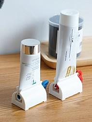 cheap -3pcs Tube Squeezer Toothpaste Dispenser Holder Dental Cream Bathroom Manual Syringe Dispenser